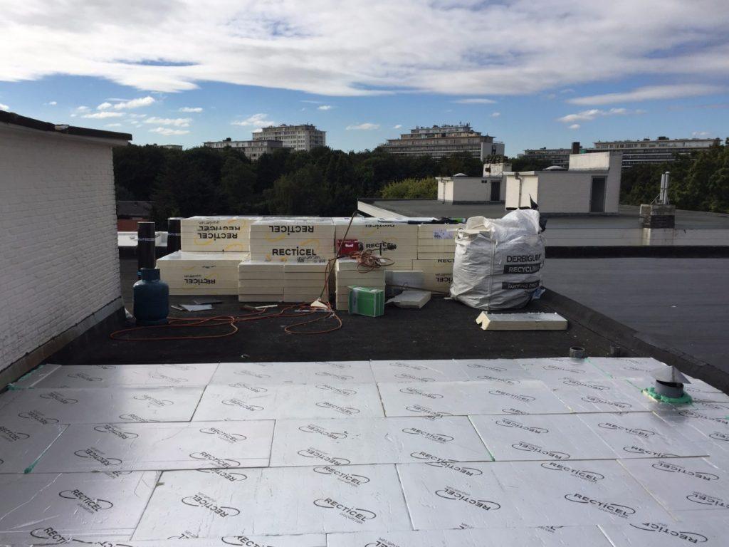 Plat dak isoleren: bestaan & nieuw dakwerken.be